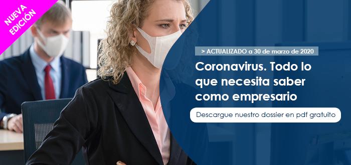 Descargue nuestro dossier en pdf de Coronavirs gratuita